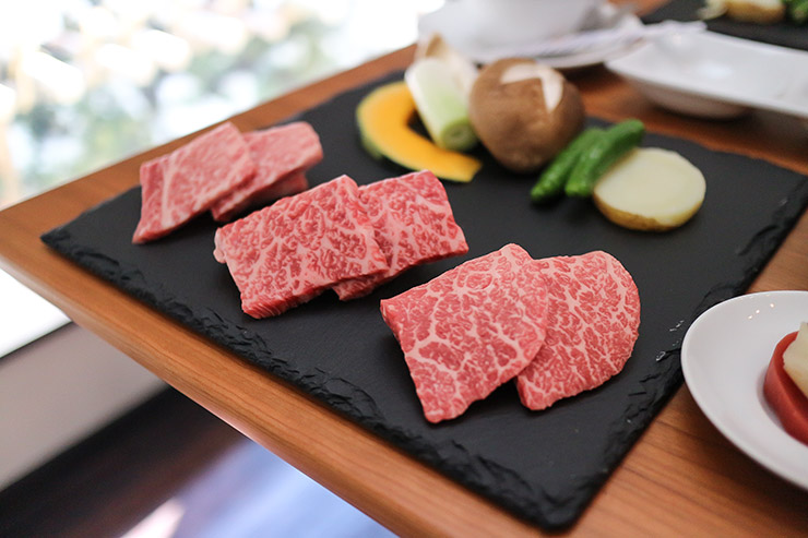 ランチで頂いたお肉